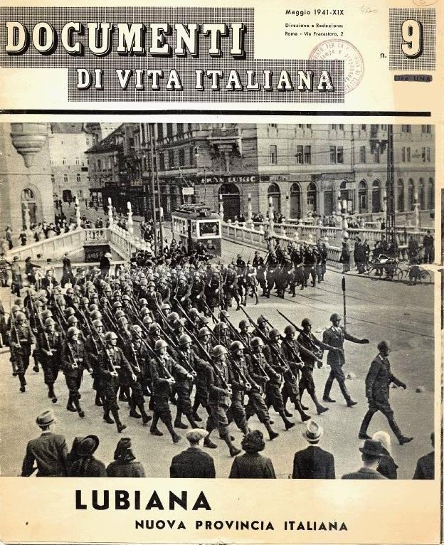 Italian army in Ljubljana
